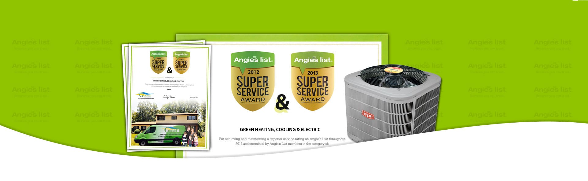 Best Heating and Air Conditioning Angies List Winner