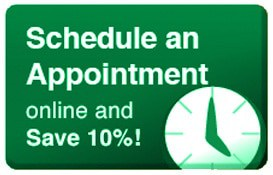 Schedule an HVAC Appointment online and save 10%